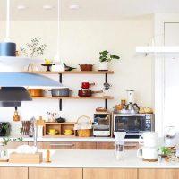 素敵なキッチン収納でモチベーションUP。お洒落&使い勝手の良いインテリア術