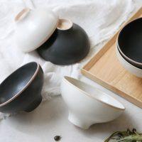 シンプルでエレガントな「ご飯茶碗」。洗練されたデザインが魅力!