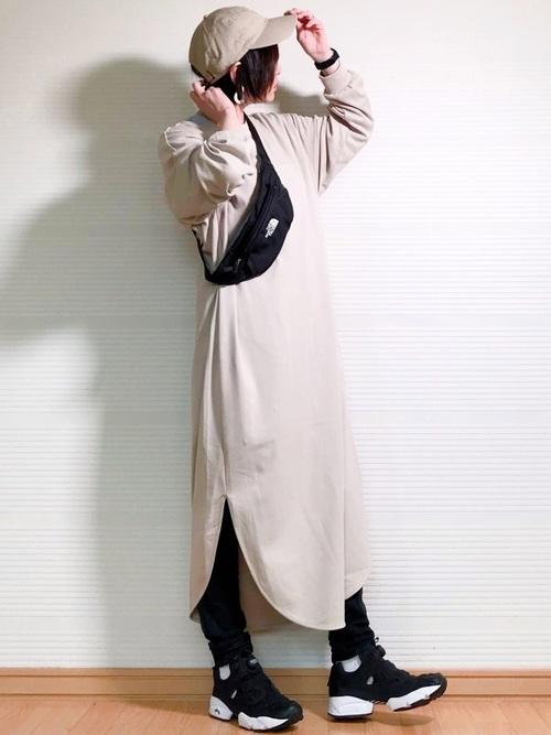 ワンピース×GU黒スキニー