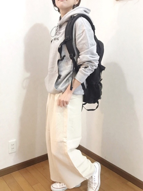 [MONO-MART] ▽WEB限定 KANGOL/カンゴール 別注ロゴ刺繍 オーバーサイズ プルオーバー フーディー パーカー