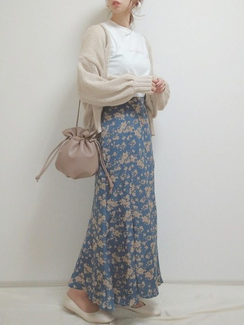 [Ambre Neige] マーメイドスカート/【WEB/EC限定商品】