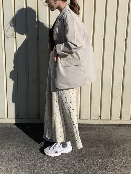 [LOWRYS FARM] アサレーヨンマーメイドスカート 869252