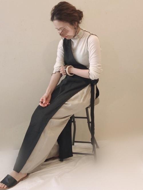 アシメジャンパースカート×パンツ