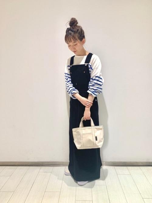 [Bshop] 【THE SHINZONE】チノジャンプスカート WOMEN
