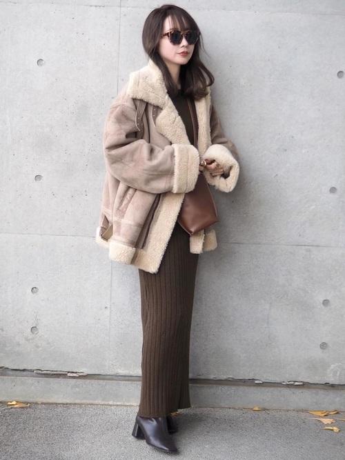 [STUDIOUS WOMENS] 【STUDIOUS】スクエアトゥミドルブーツ/スタイリングを選ばないエコレザーショートブーツ