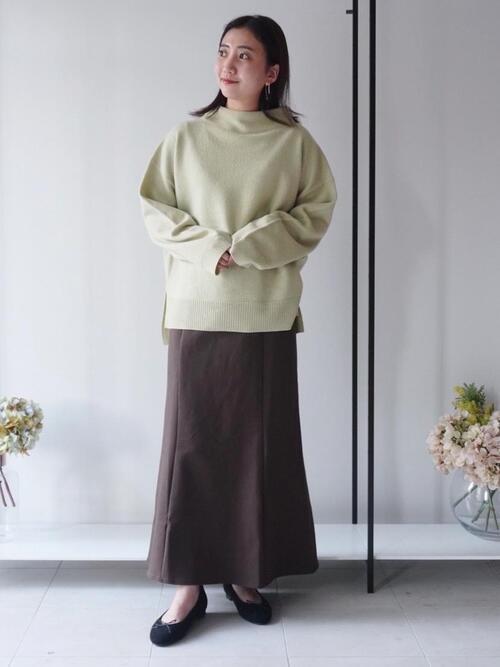 [green label relaxing] ◆NFC ラウンド バレエシューズ (1.5cmヒール)