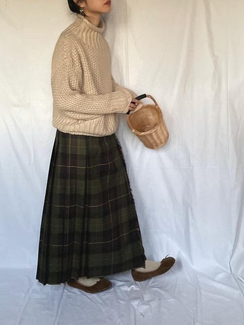 [Bshop] 【O'NEIL of DUBLIN】ロングキルトスカート WOMEN
