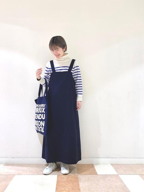 [COO ONLINE] ギャバマキシ丈ジャンスカ