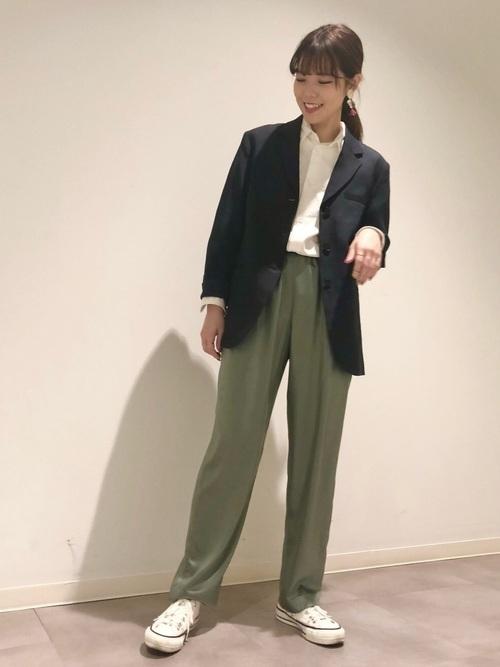 [CONVERSE TOKYO] サテンパンツ