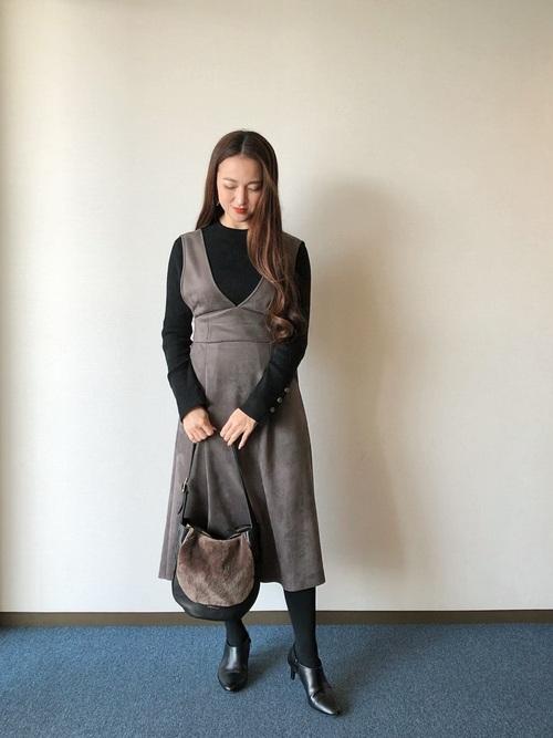 ZARAジャンパースカート