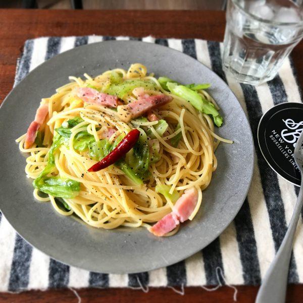 レンジの時短料理で美味しいペペロンチーノ