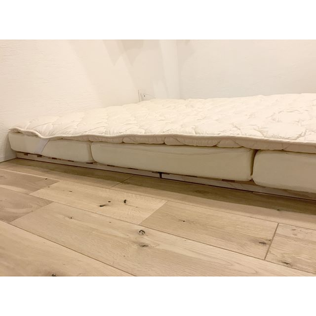 マットレスを活用したすのこベッド