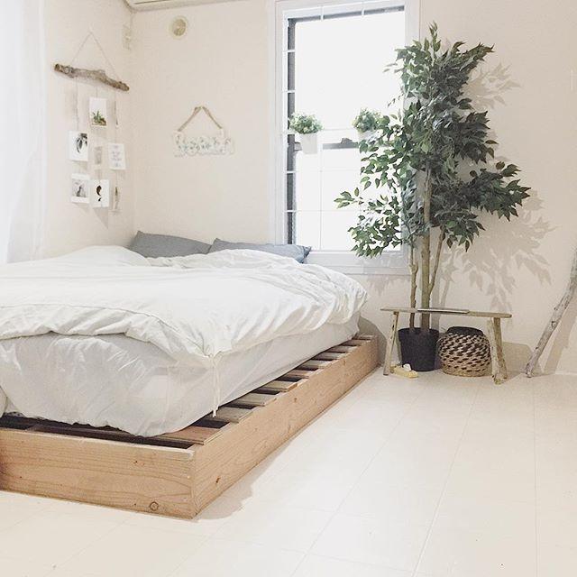 ウッド素材で自然を感じる和室