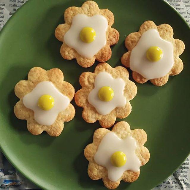 強力粉の食感でいただくアイシングクッキー