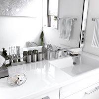 ホテルライクな洗面所の作り方。賃貸住みの一人暮らしさんにもおすすめの空間作り