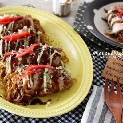 焼きそば麺の簡単アレンジレシピ14
