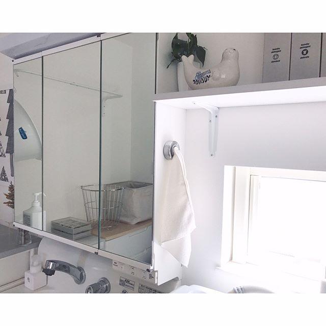 タオル 洗面所 吊り下げ収納2
