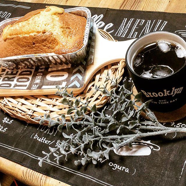 ミニ型で朝食にぴったりなミニパウンドケーキ