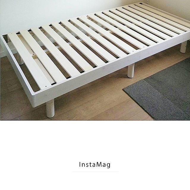 風通しの良いすのこベッド