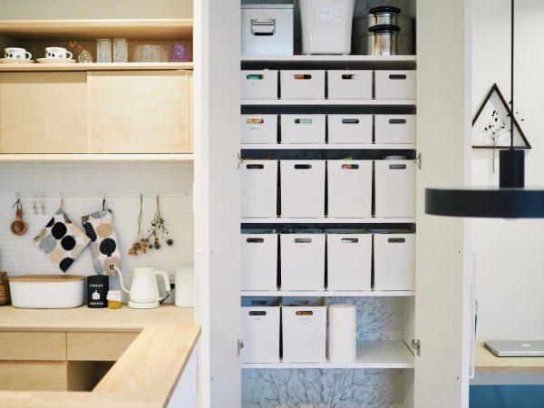 ニトリの白いインボックスが整理収納に便利