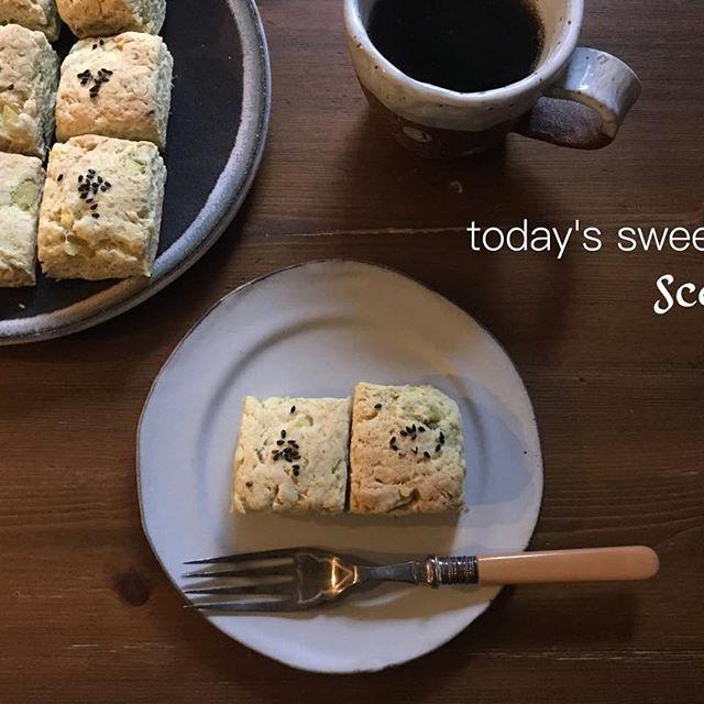 素朴な味わいの簡単さつまいもスコーン