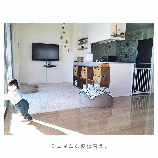 アパートでの赤ちゃんのお部屋作り 収納5