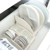 食器は立てて収納するのが正解。100均・無印などでおしゃれに整理整頓できる