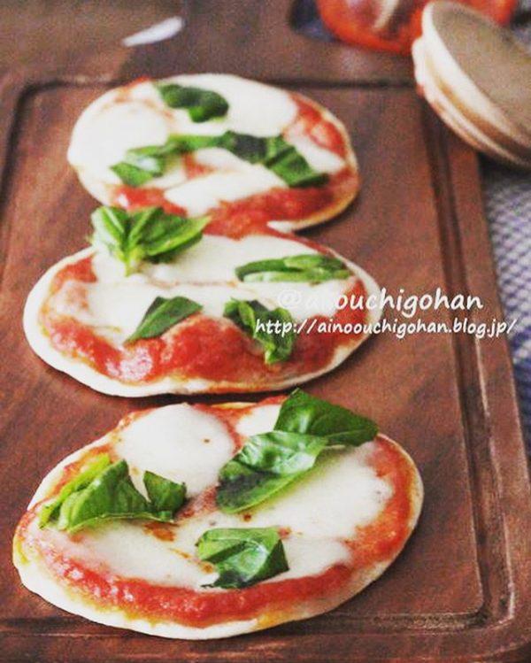 おつまみにも人気!マルゲリータピザ
