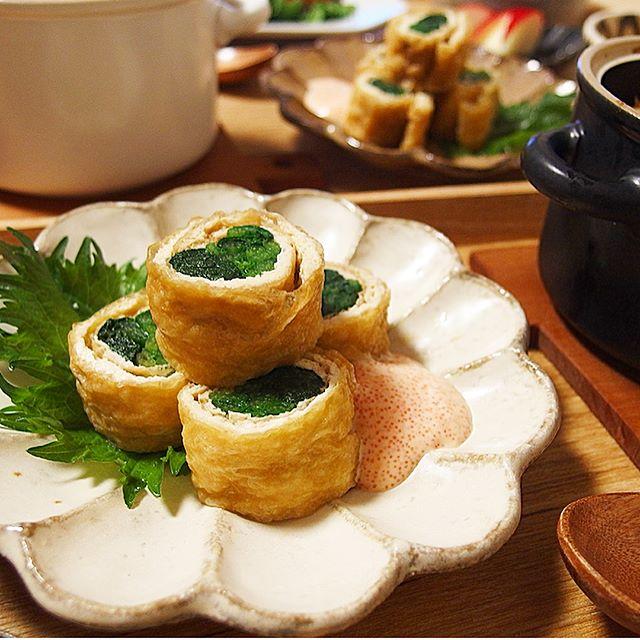 和食料理は高さをつけるのがポイント