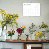 春らしさを花で添えて!パッと目を惹くお花を飾ったインテリア