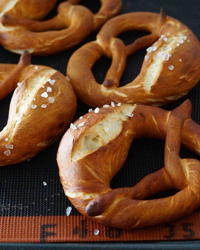 ドイツお菓子「プレッツェル」に挑戦