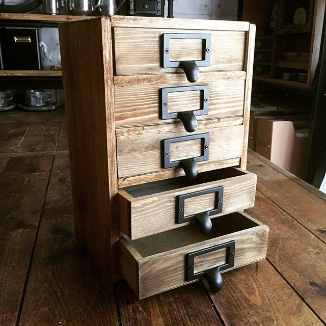 DIYメイクボックス