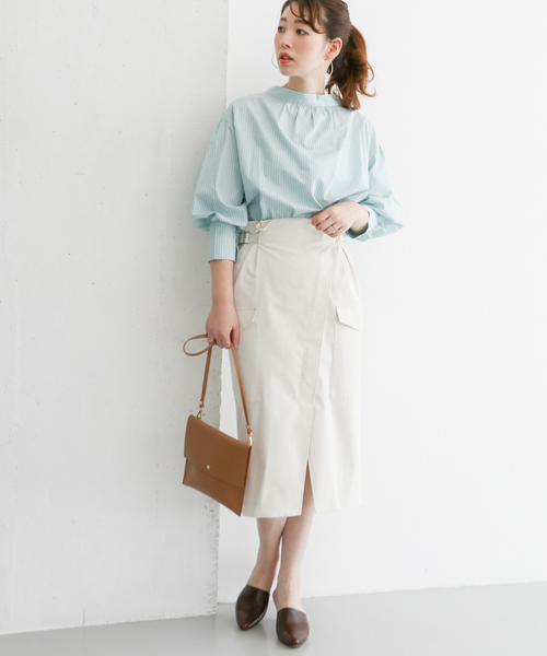 URBAN RESEARCH ROSSO WOMEN] ラップ風タイトスカート