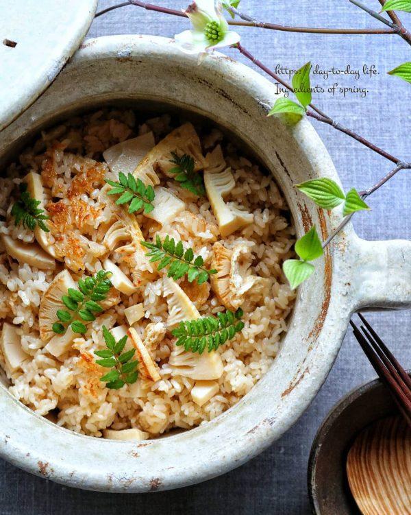 春の和食献立レシピ!たけのこご飯