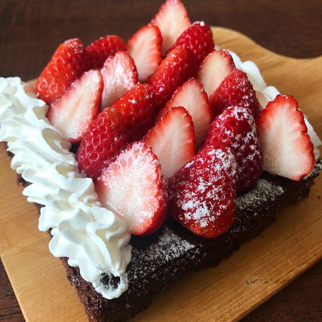 ガトーショコラ風チョコレートケーキ