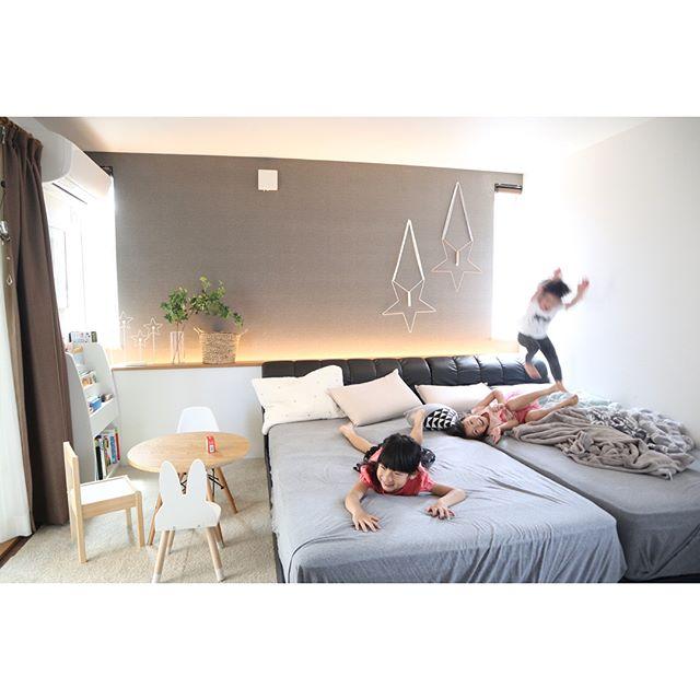 ゆったりスペースを作る寝室コーディネート