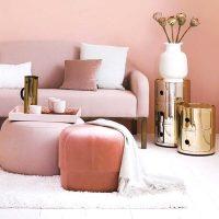 ピンクを使っても甘くなりすぎない♡大人のためのかわいいルームコーデテク