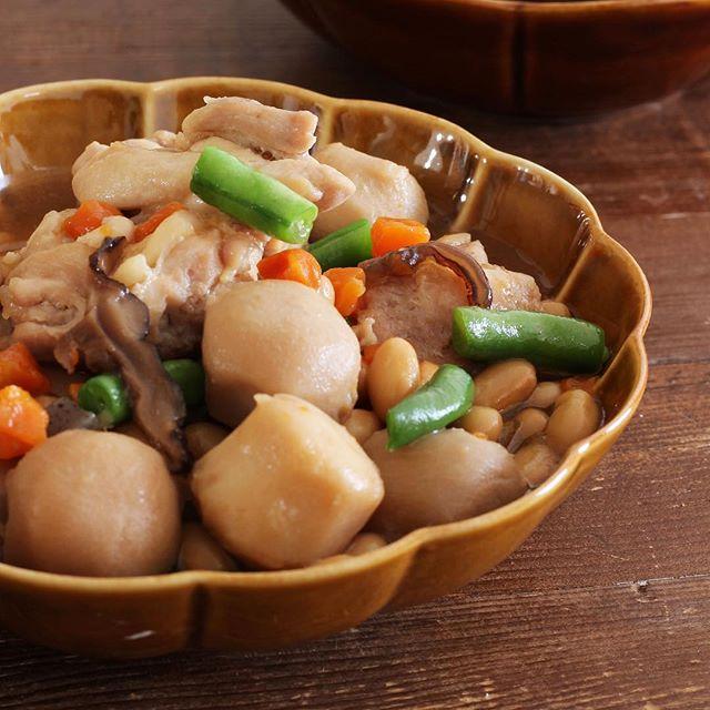 簡単レシピ!レンチン筑前煮風