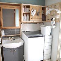 洗濯機上の空間を無駄にしてない?今すぐ真似したいおしゃれ収納アイデア実例