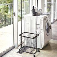 洗濯横をおしゃれな収納スペースに。狭い空間を有効活用するおすすめの方法とは?