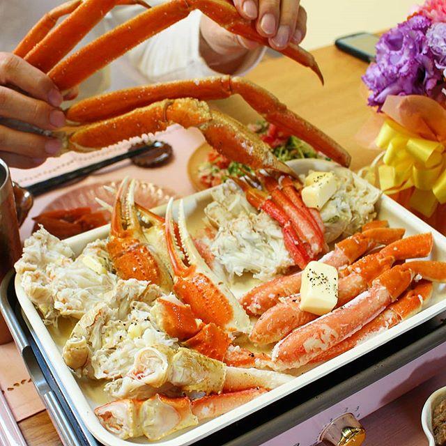 簡単豪華メニュー!蟹のバター焼き