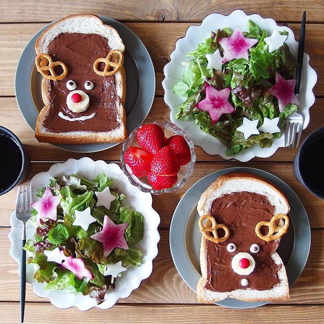 3歳におすすめ!チョコスプレッドトースト