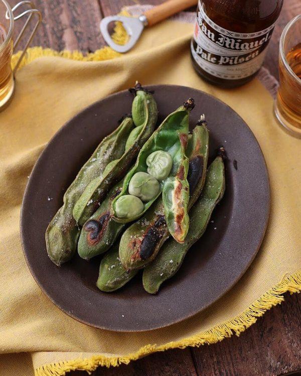 簡単和食献立レシピ!焼きそら豆