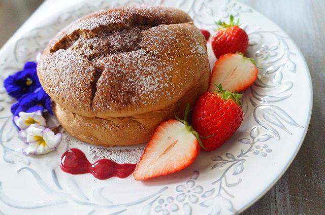 オーブンで簡単!人気のスフレパンケーキ