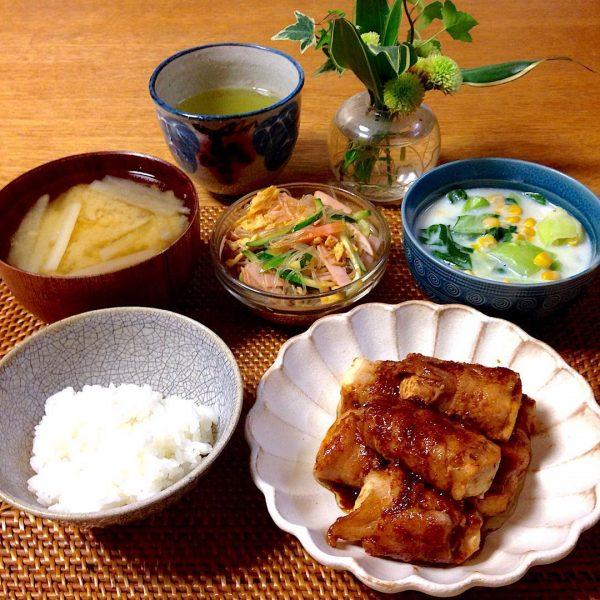 30代のダイエットの食事に☆豆腐の肉巻き