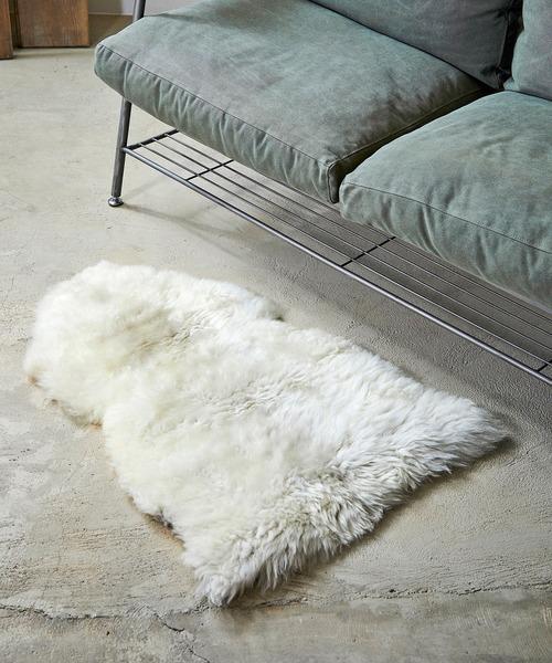 GLENCROFT StyleStandard Sheepskin Rug (グレンクロフト スタイルスタンダード シープスキンラグ)(WHITE)(ラグ マット)