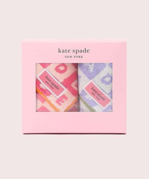 [kate spade new york] ケイト スクエア タオル セット