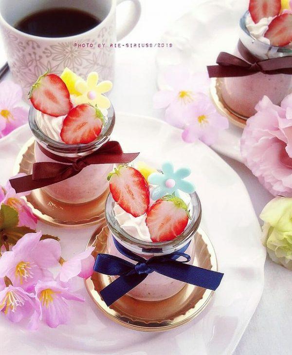 夏おすすめの簡単デザート☆パンナコッタ
