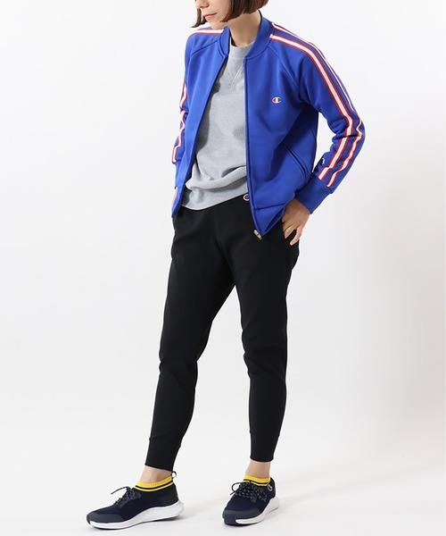 [TokyoTshirt.st] ウィメンズ トラックジャケット ジャージ (CW-RSE01) 吸汗速乾 スポーツ チャンピオン 2020SS 春夏新作|Champion(チャンピオン)