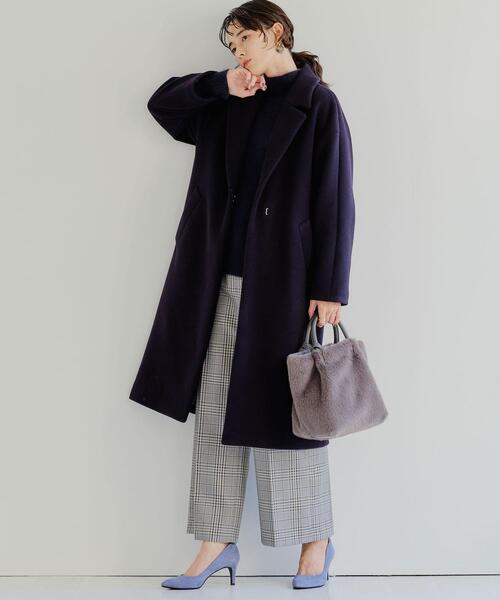 [green label relaxing] ◆model NO.07◆D ポインテッド プレーン パンプス(7cmヒール)